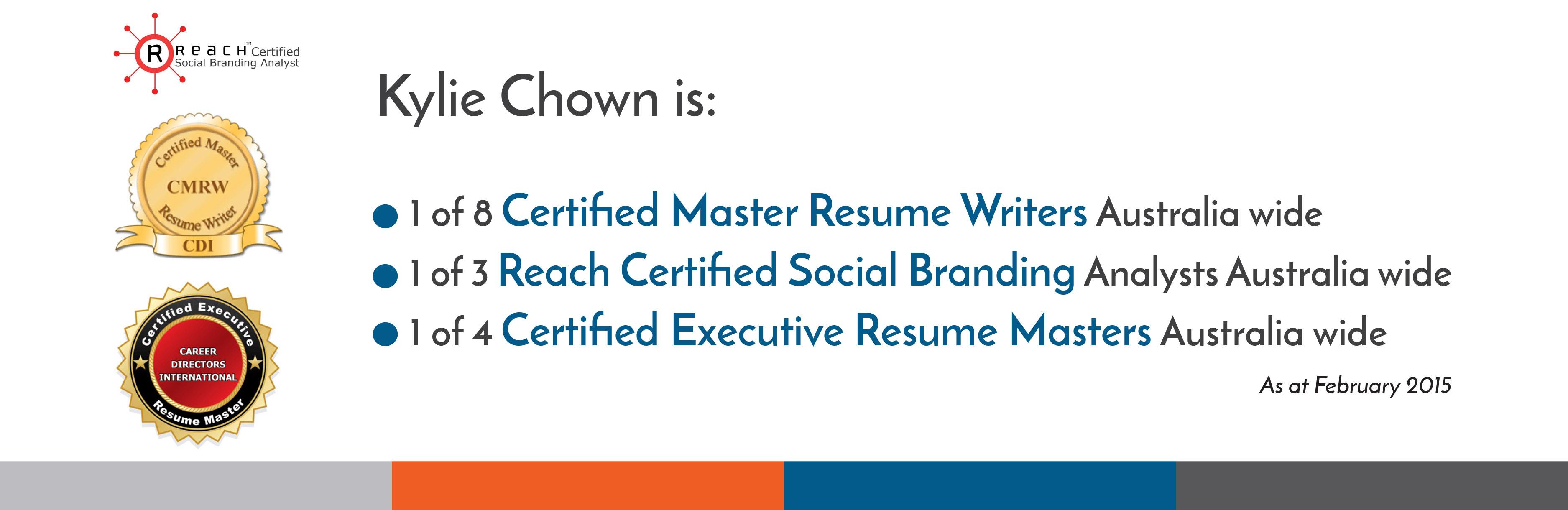 Certified resume writer